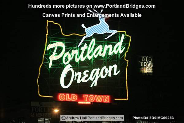 New Portland, Oregon Sign, 2010