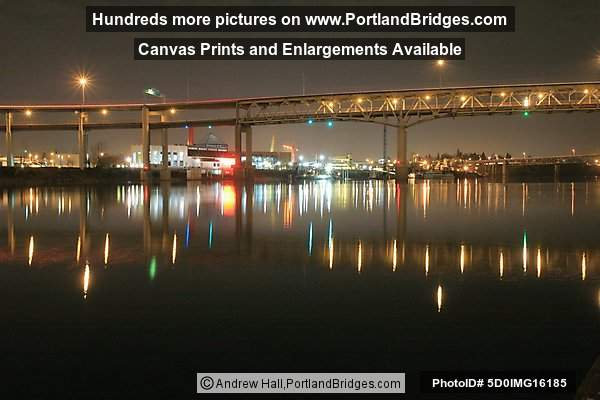 Marquam Bridge, Reflections (Portland, Oregon)