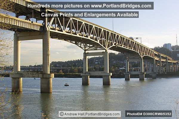 Marquam Bridge, Daytime, 2002 (Portland, Oregon)