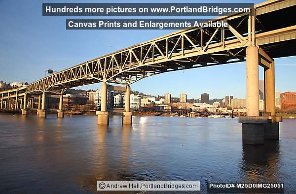 Marquam Bridge, Morning Light (Portland, Oregon)