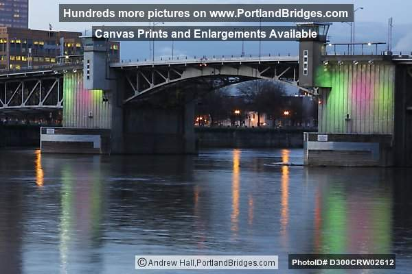 Morrison Bridge, Lighted (Portland, Oregon)