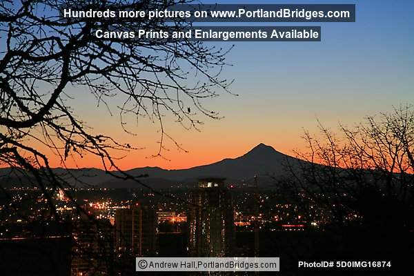 Mt. Hood, Sunrise/Daybreak Photos (Portland, Oregon)