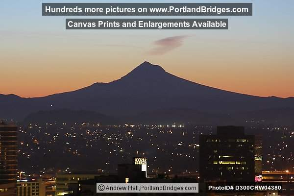 Mt. Hood at Daybreak (Portland, Oregon)