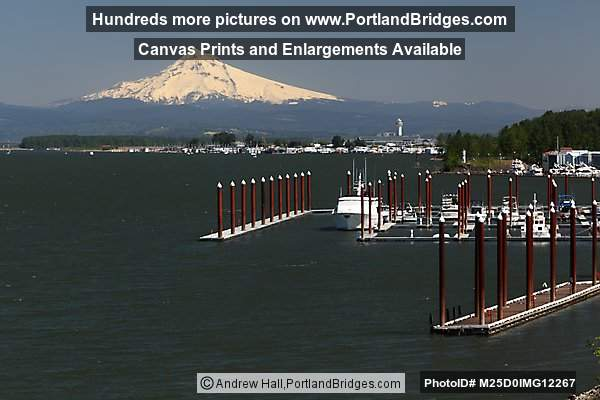 Mt. Hood, Marina, Columbia River, Oregon Side (Portland, Oregon)