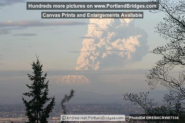 Mt. Saint Helens Eruption, March 8, 2005 (Portland, Oregon)