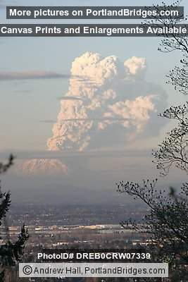 Mt. Saint Helens Eruption (Portland, Oregon)