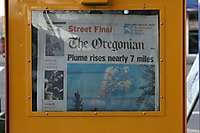 Portland Oregonian Newspaper Box