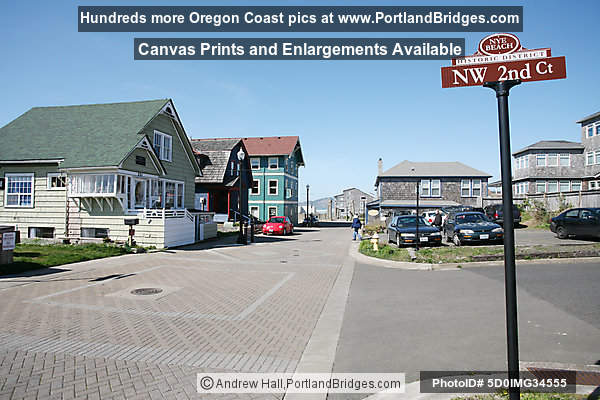 Newport Oregon Nye Beach Historic District