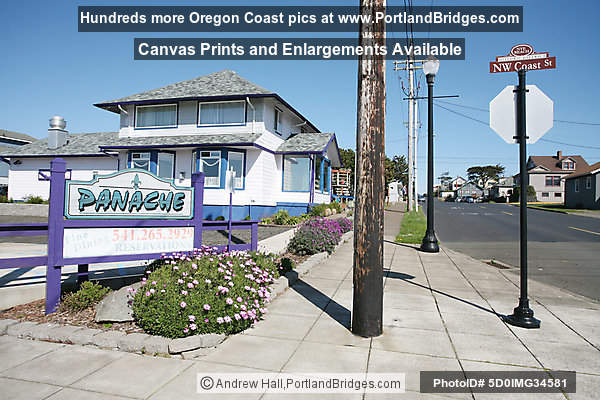 Nye Beach Historic District, Panache, Newport, Oregon