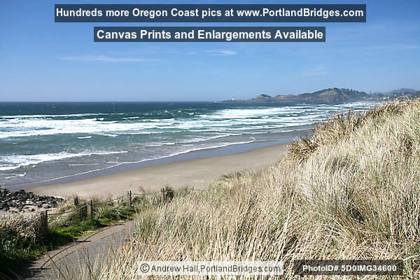 Nye Beach, Bluff, Newport, Oregon