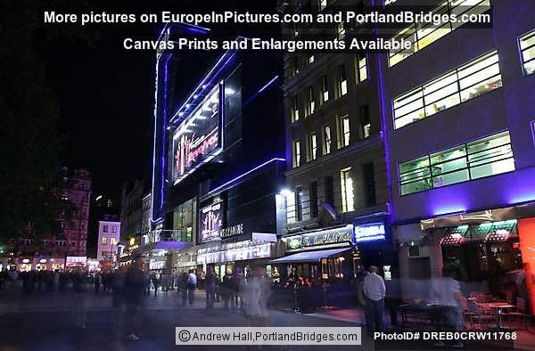 London Leicester Square Night