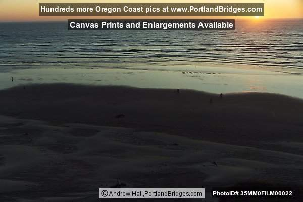 Newport, Oregon  - Nye Beach, Sunset