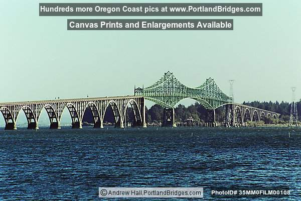 Conde McCullough Memorial Bridge (Coos Bay Bridge), Oregon Coast