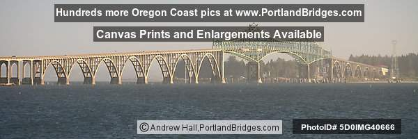 Conde McCullough Memorial Bridge (Coos Bay Bridge)