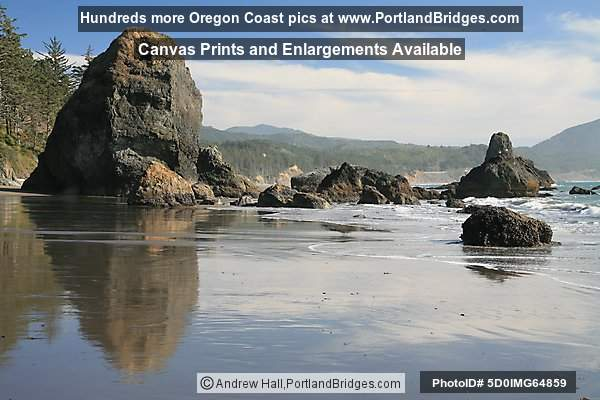Port Orford, Beach, Oregon Coast