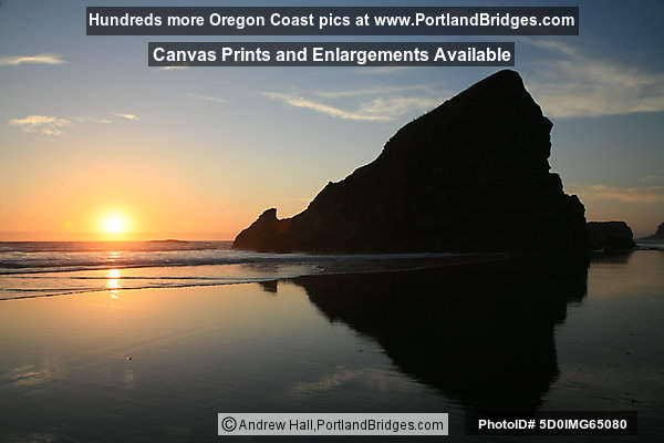 Cape Sebastian, Sunset, Oregon Coast