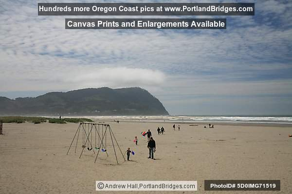 Seaside, Oregon, Beach, Kites