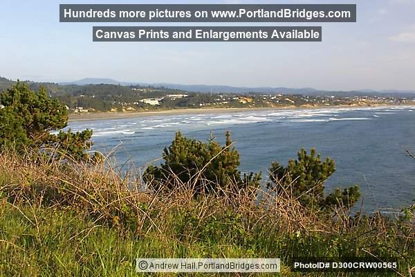 Newport - Nye Beach from Yaquina Head (Portland, Oregon)