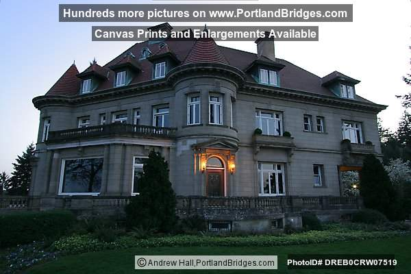 Pittock Mansion, Dusk (Portland, Oregon)