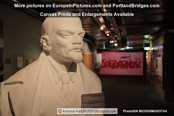 Lenin Bust, Roads to Freedom Exhibit, Gdansk