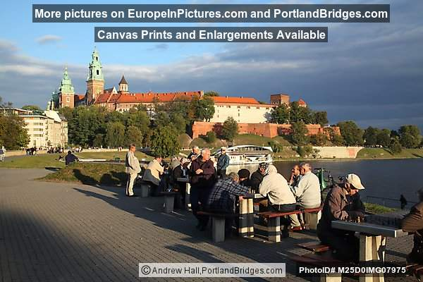 Wawel Hill, Chess Players, Krakow
