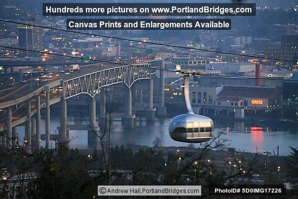 Portland Aerial Tram, Marquam Bridge