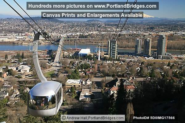Aerial Tram and South Waterfront, Portland
