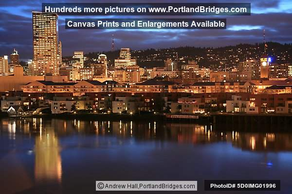 Portland Skyline from North