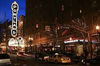Portland Schnitzer Sign, Dusk <i>(23 images) - shot on 02/11/2006</i>