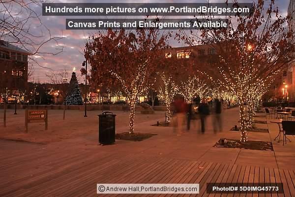 portland pearl district jamison square dusk photo 5d0img45773
