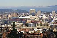 Portland Downtown Dusk <i>(24 images) - shot on 12/07/2002</i>