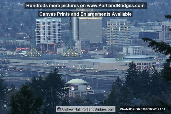 NE Portland, from Council Crest