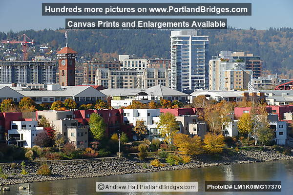 Pearl District, Union Station from Across the Willamette River (Portland, Oregon)