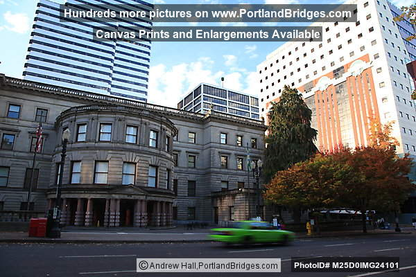 Portland City Hall, Portland Building, From 4th Avenue