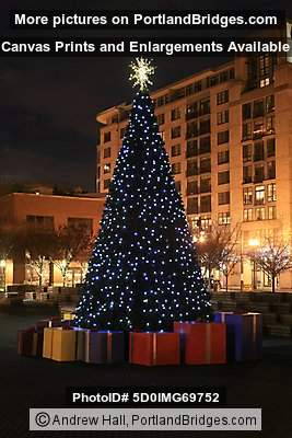 Pearl District Christmas Tree, 2010 (Portland, Oregon)