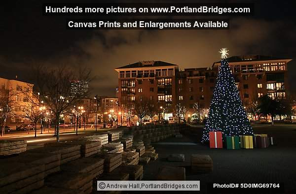 Portland Pearl District Christmas Tree, 2010
