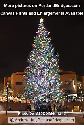 2012 Portland Pioneer Courthouse Square Christmas Tree