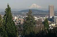 Portland Westover Pittock Mansion Afternoon
