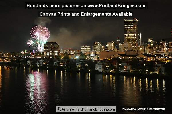 Rose Festival 2012 Fireworks, Memorial Day (Portland, Oregon)