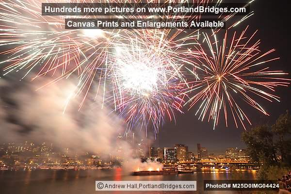 Portland July 4th Fireworks, 2012