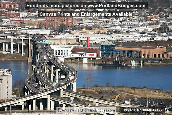 OMSI and Marquam Bridge
