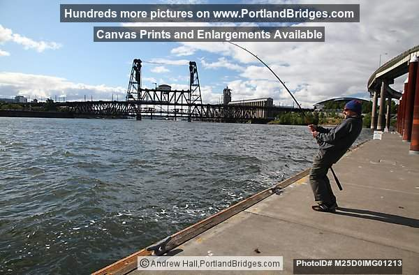 Willamette River Fisherman (Portland, Oregon)