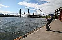 Portland Waterfront Fisherman