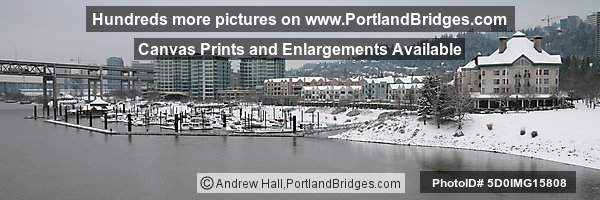 Portland Snow, Riverplace