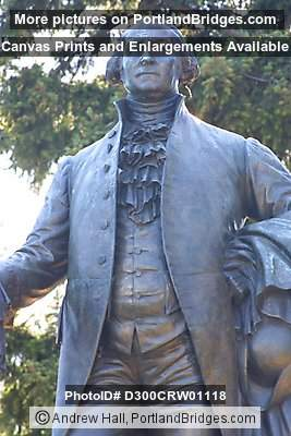 George Washington Statue (NE Sandy Blvd), Portland, Oregon