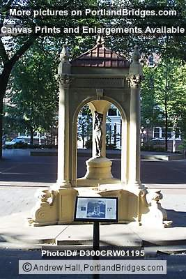 Shemanski Fountain, Portland Park Blocks
