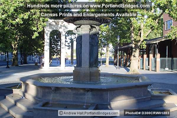 Skidmore Fountain, Portland, Oregon