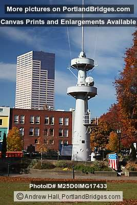 USS Oregon Mast, Memorial, Tom McCall Waterfront Park (Portland, Oregon)