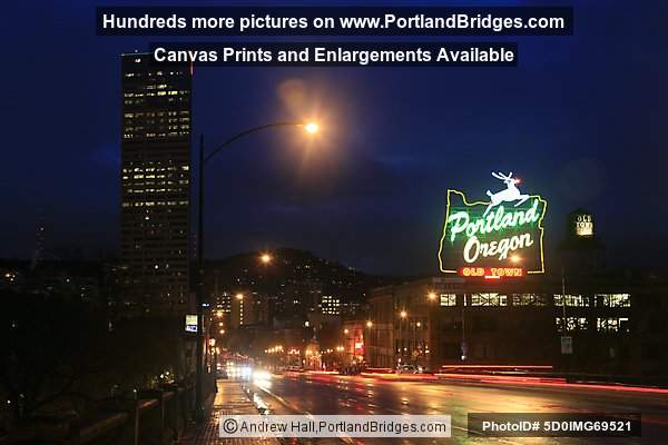 portland oregon sign formerly made in oregon dusk photo 5d0img69521