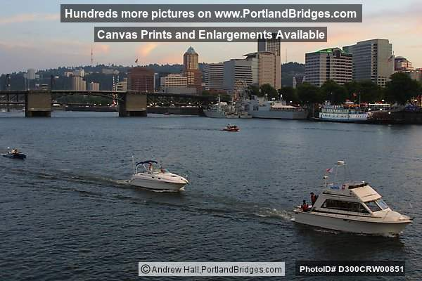 Willamette River Boats (Portland, Oregon)